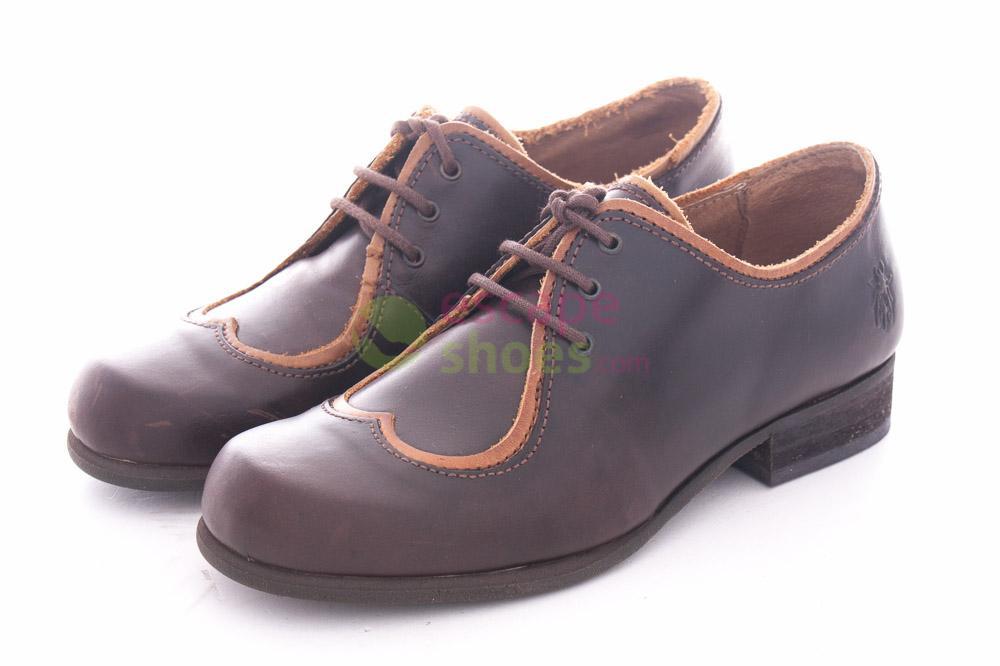 9c79061076c Compra aquí tus Zapatos FLY LONDON Don Drapper Marron P141956007 ...