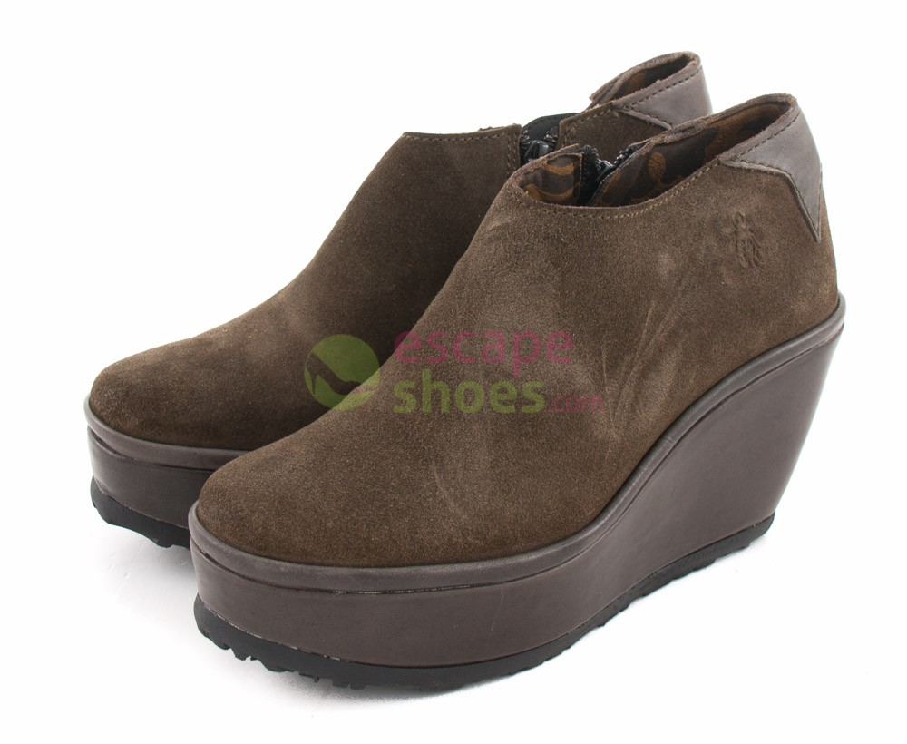 8163364fdd7 Zapatos FLY LONDON Punch Pelt Antracita P500497004 - EscapeShoes
