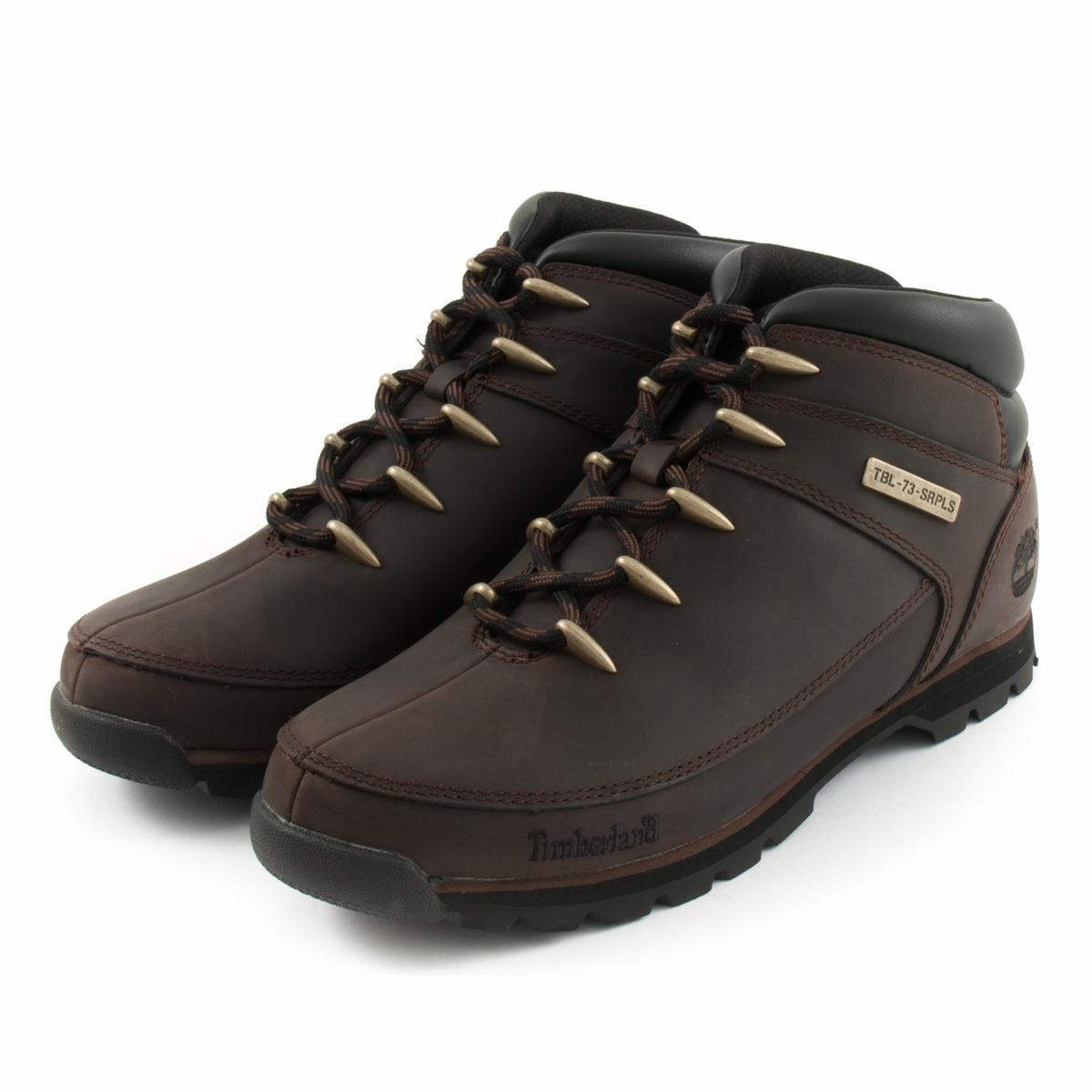 la mejor actitud a1def 96df4 Boots TIMBERLAND Euro Sprint Hiker Dark Brown A11ZM