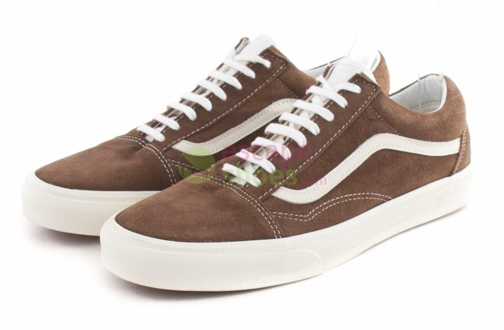 1756c1ed4ea Buy your Sneakers VANS Old Skool Vintage Shitake VVOKDO8 here ...