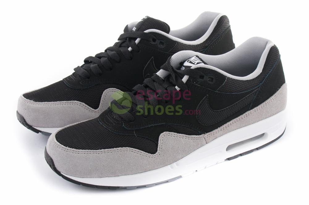 best value fresh styles cheap for sale Sneakers NIKE Air Max 1 Essential Black Flint Silver 537383 021