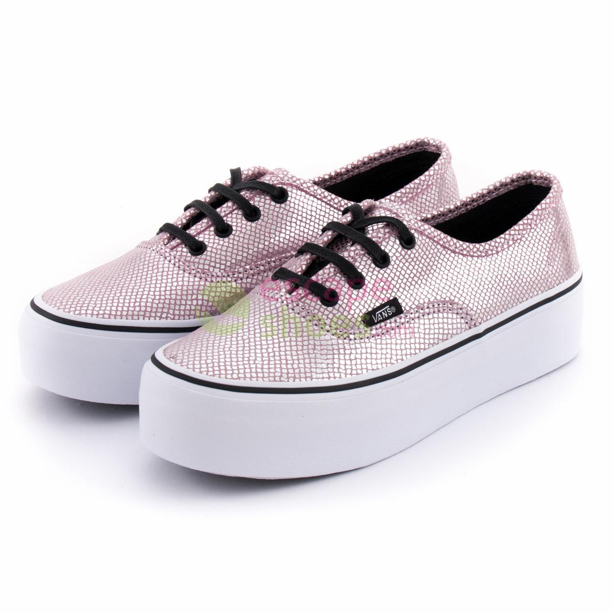 Buy your Sneakers VANS VYPPGJD Authentic Platform Metallic Snake ... f16debc34b