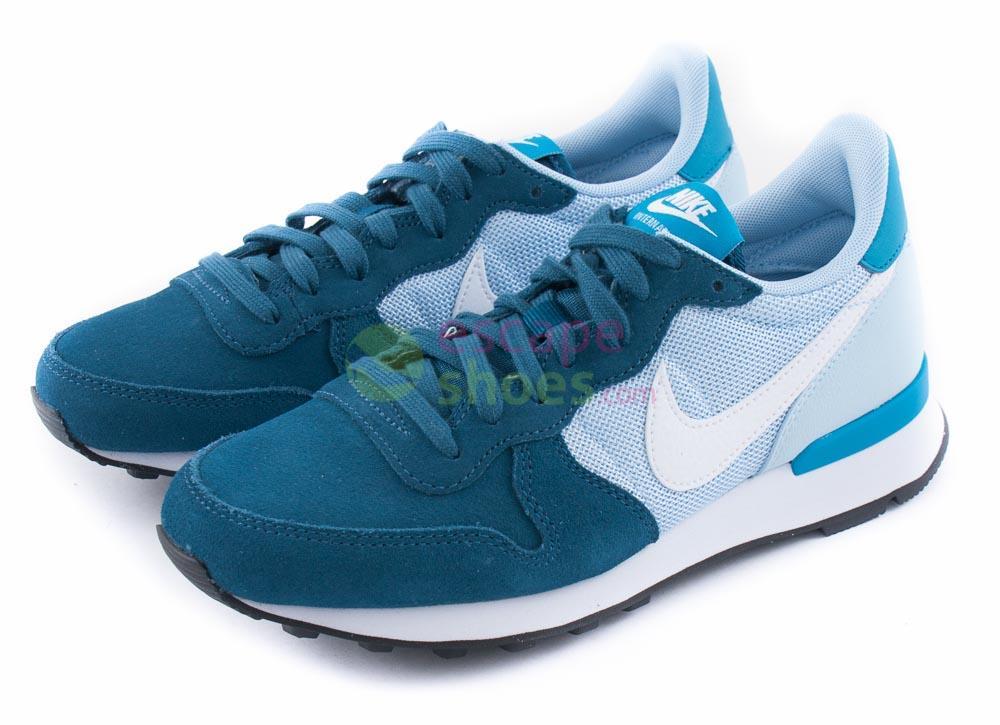 best sneakers d1807 83145 Tenis NIKE Wmns Internationalist Blue Force White Ice 629684 403