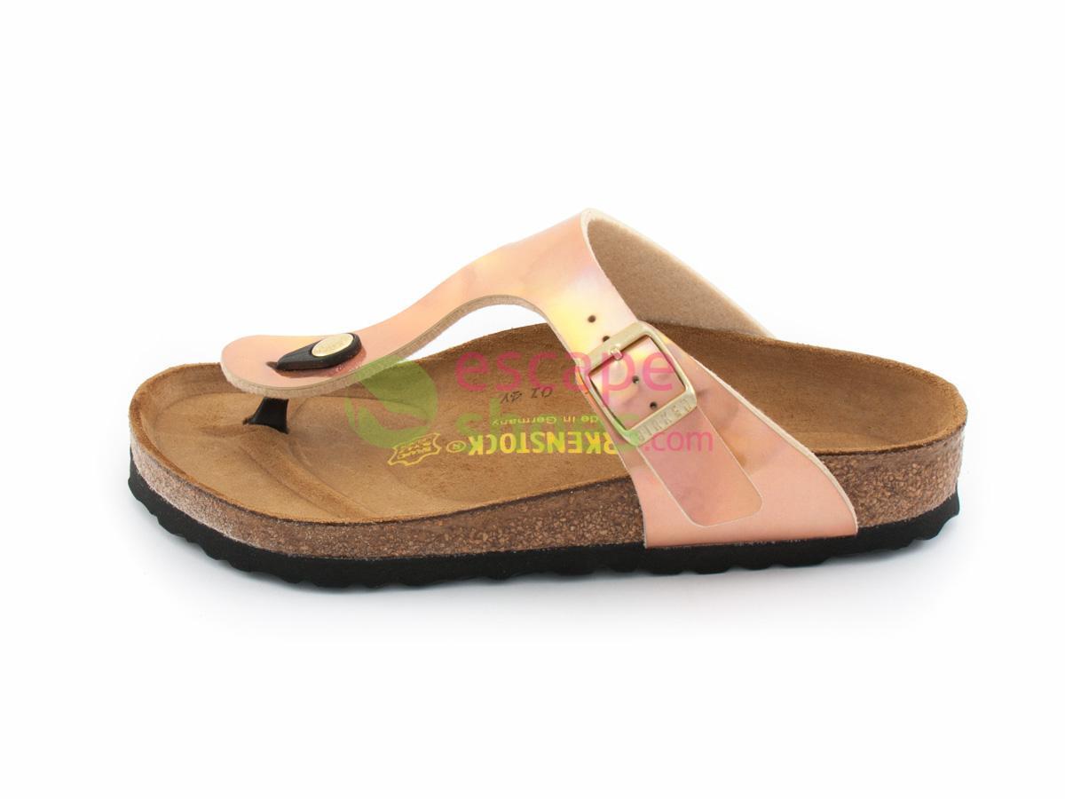 Sandals BIRKENSTOCK 846961 Gizeh Mirror Rose Gold