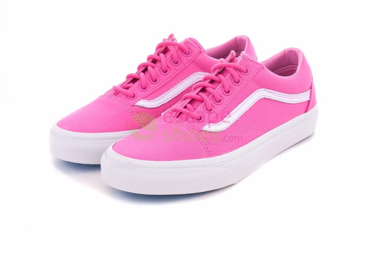 Buy your Sneakers VANS VVOK7DF Old Skool Carmine Rose White here ... f18e93daa7cd