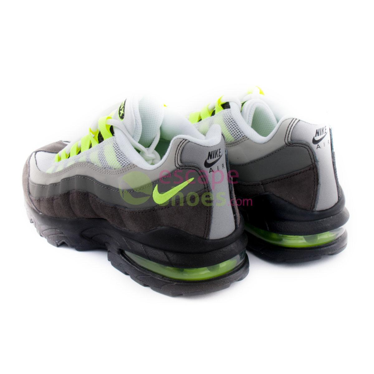 Sneakers NIKE Air Max 95 Gs Black Volt Ash Pewter 307565 077