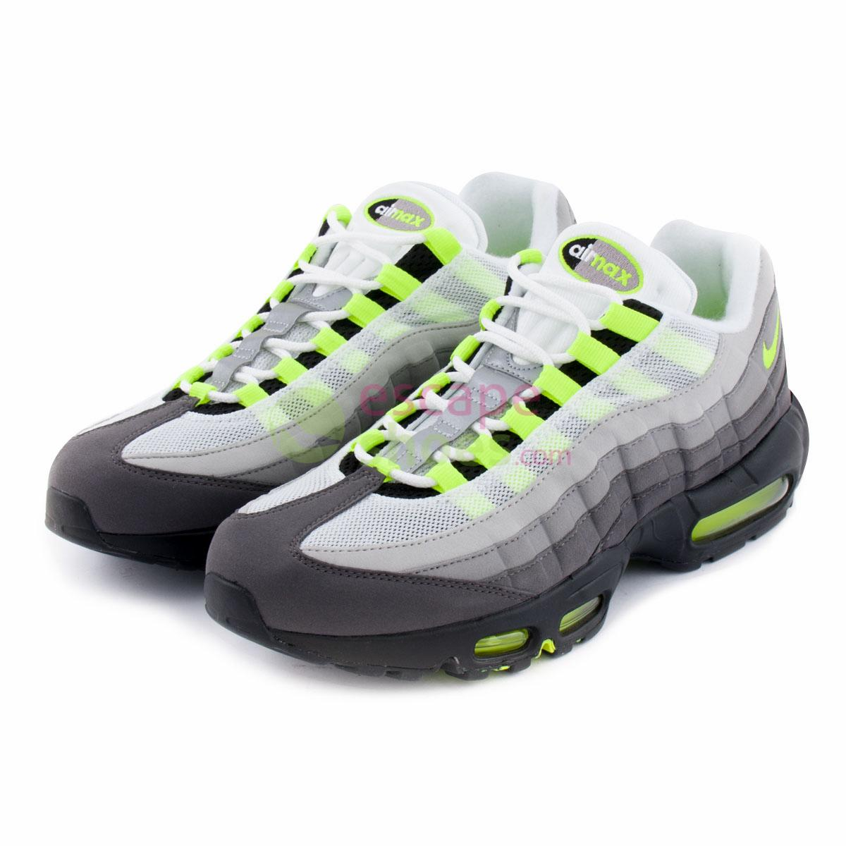 32c5d8e1f5 Buy your Sneakers NIKE Air Max 95 Og Black Volt Ash Pewter 554970 ...