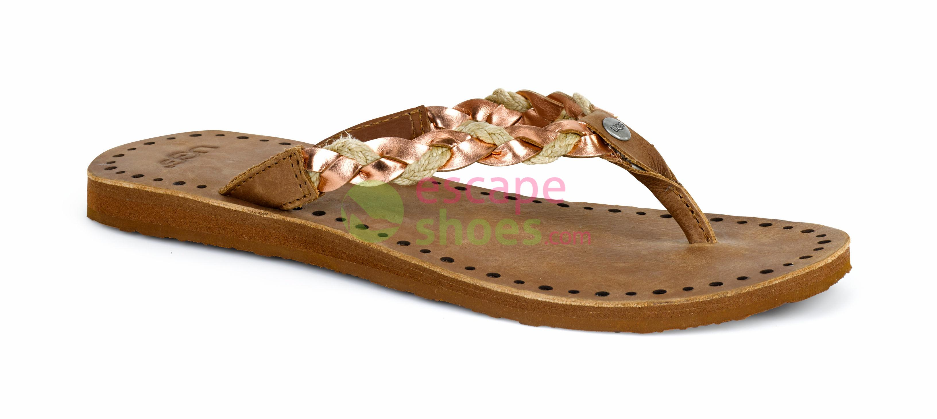 d9dd76f3248 Buy your Flip Flops UGG Navie 1007559 Rose Gold here | Online Store ...