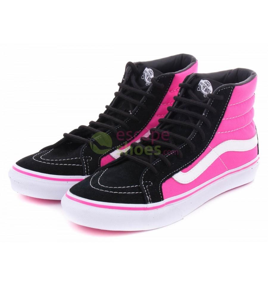 07b76676cd Compre aqui VANS VQG3AON Sk8-Hi Slim 2 Tone Black Pink | Loja Online ...
