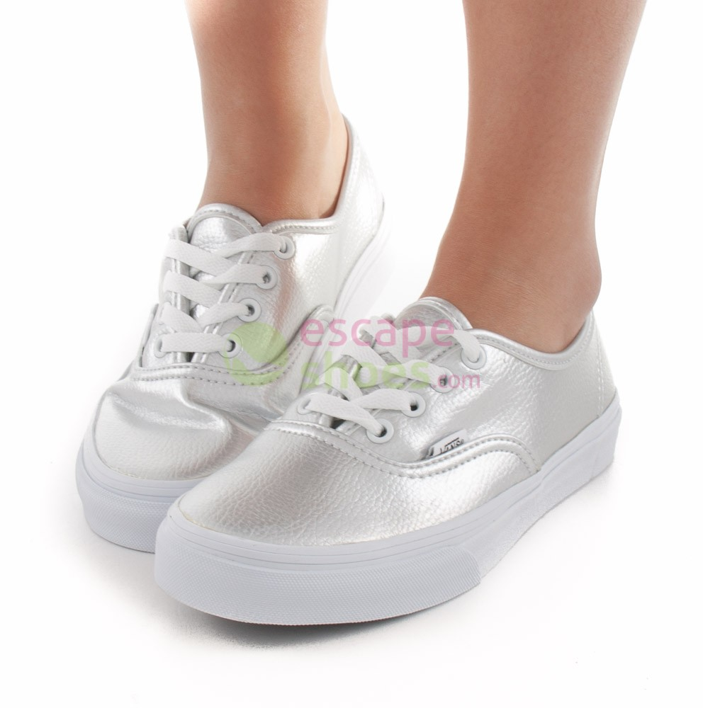 Sneakers VANS Authentic Glitter Leather Silver VW4NDJC