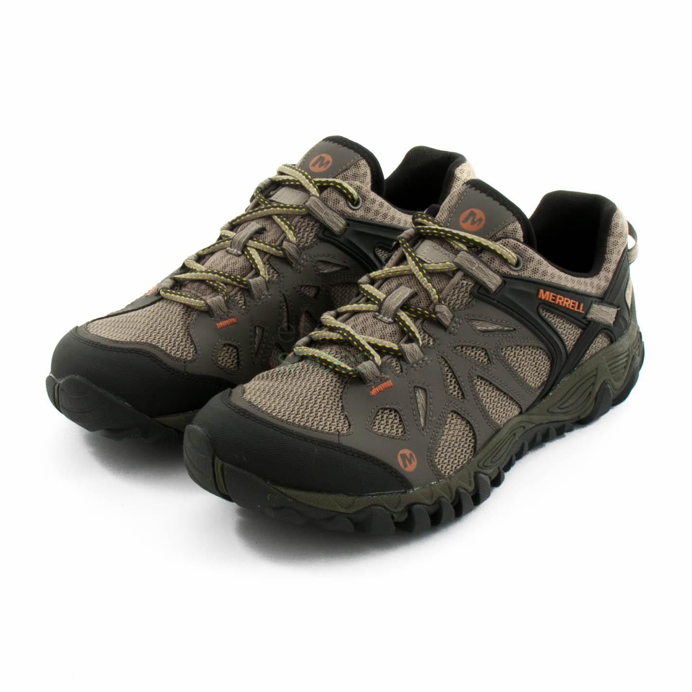 discount shop baby aliexpress Sneakers MERRELL All Out Blaze Aero Sport Khaki J32827