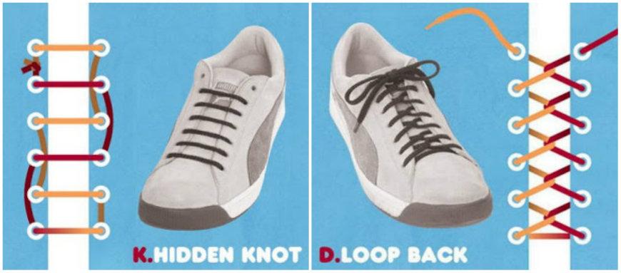 tying shoelaces level 1