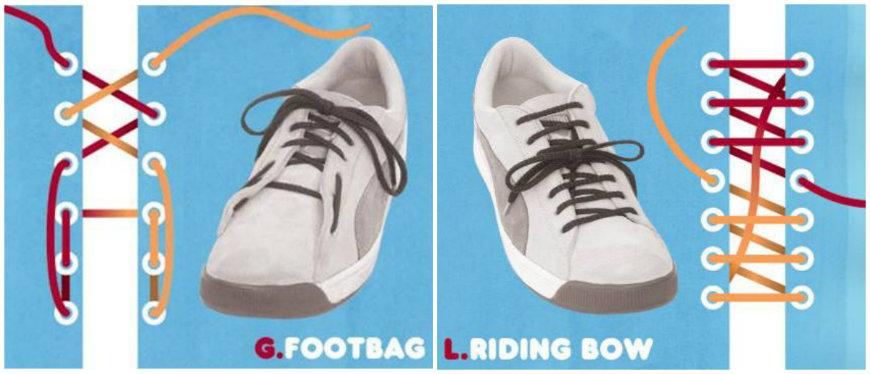 tying shoelaces level 2