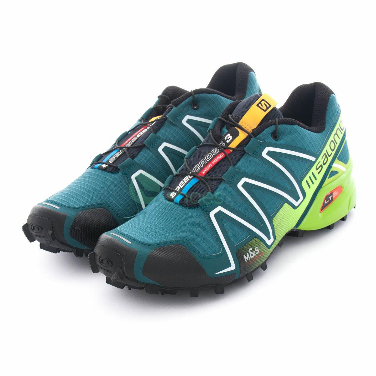 salomon speedcross 3 blue black orange km0