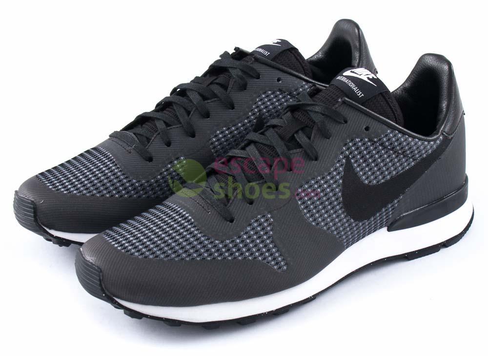 online store 0e5b3 04ed8 Tenis NIKE Internationalist JCRD Black Cool Grey White 705215 001