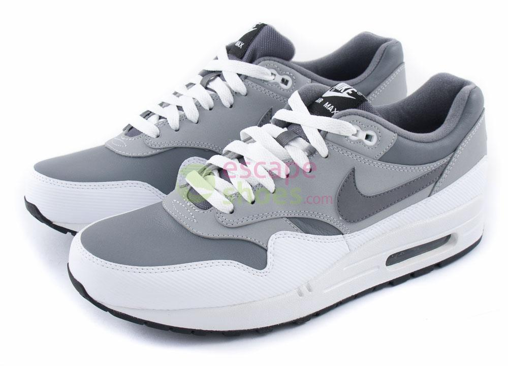 Sneakers NIKE Air Max 1 LTR Cool Grey Wolf White 654466 003