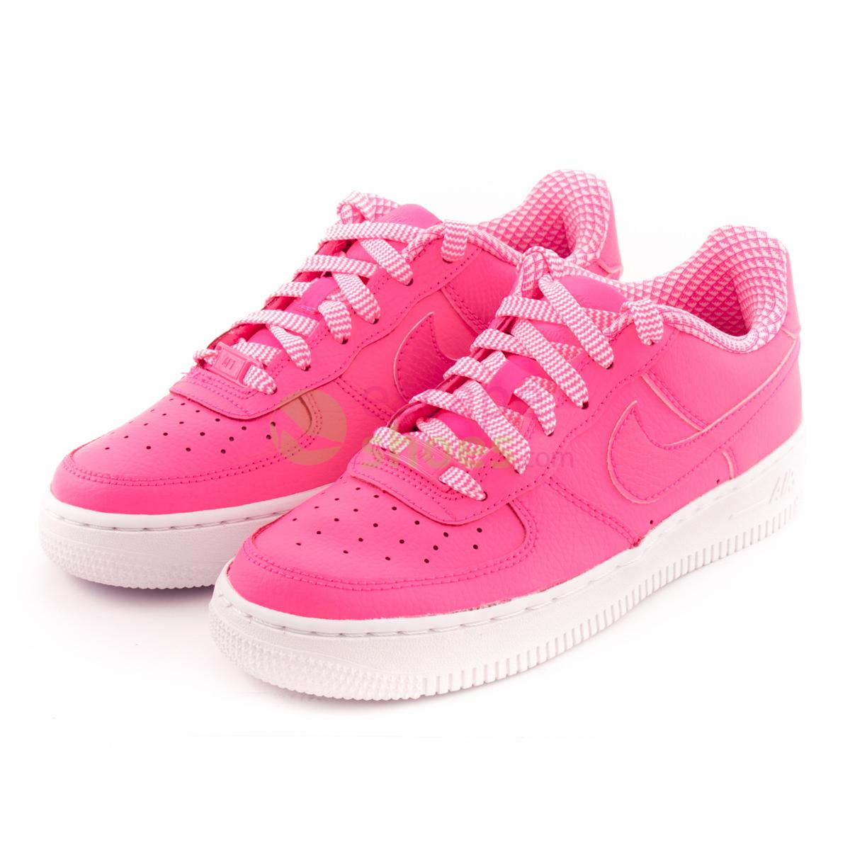 Sneakers NIKE Air Force 1 Gs Pink Pow White 314219 615
