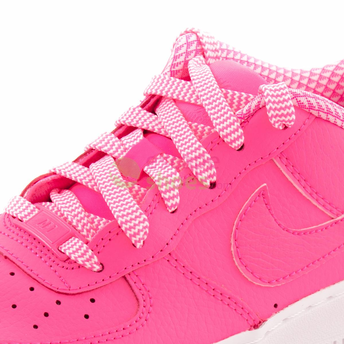 NIKE Air Force 1 Gs Pink Pow White 314219 615