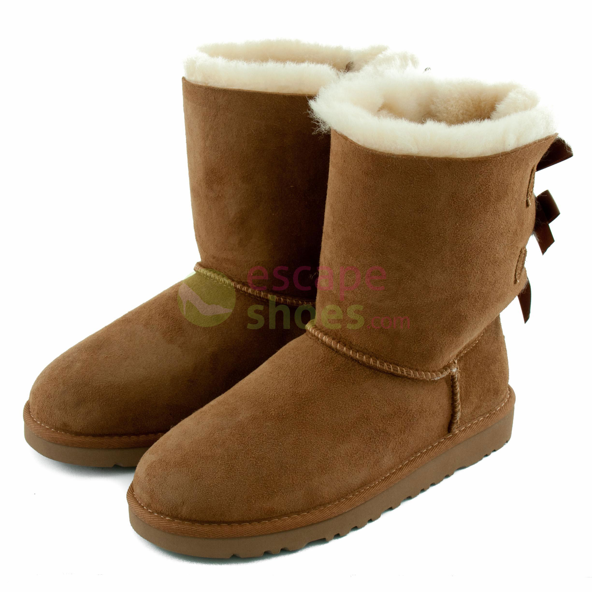Ugg Boots Bailey Chestnut Bow Australia Che 1002954 8nP0OXwk