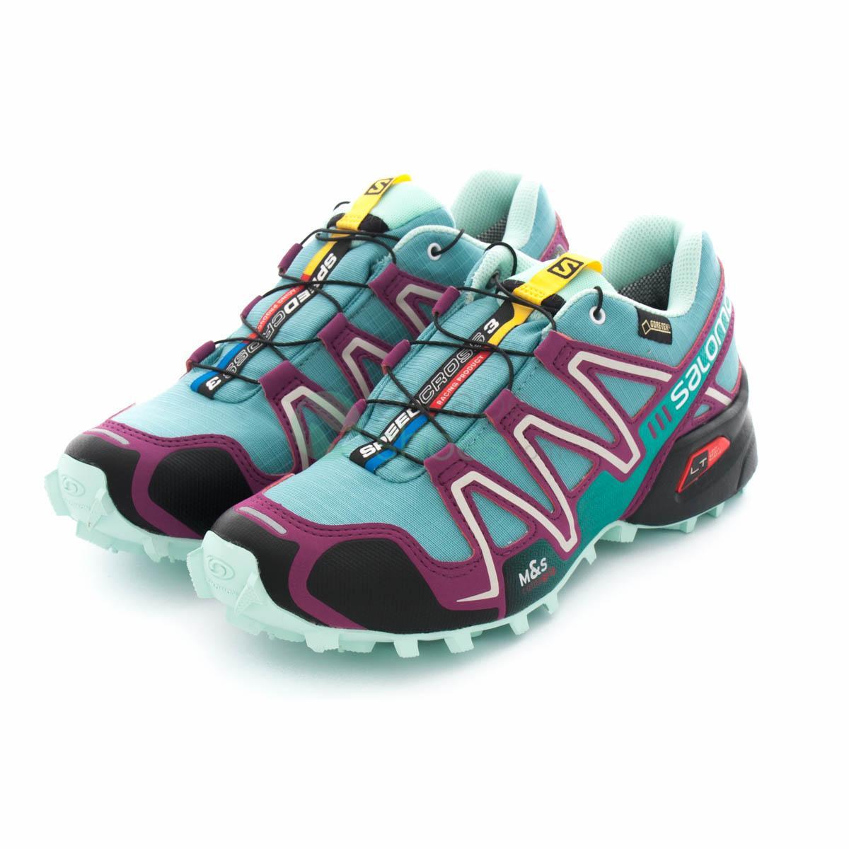nouveau style 0f876 cba0d Sneakers SALOMON Speedcross 3 Gore-Tex Opaline Blue 376083