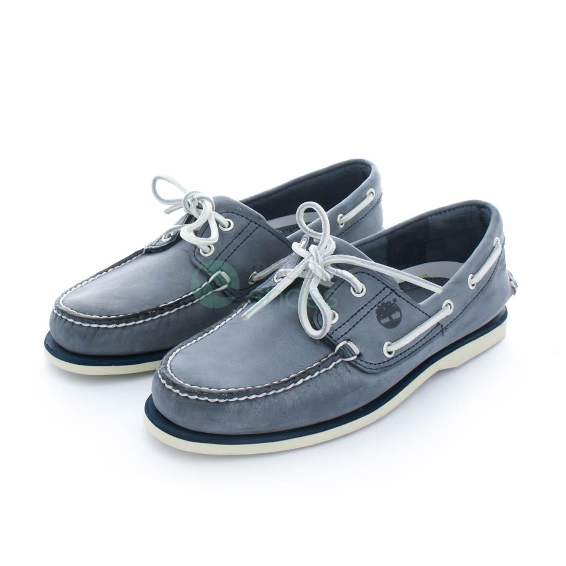 outlet for sale new collection good Boat Shoes TIMBERLAND Classic 2 Eye Navy A13OM