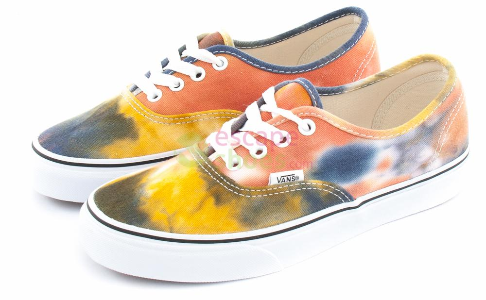 3dab926f90a62e Buy your Sneakers VANS Authentic Tie Dye Navy Burnt Orange VZUKFPY ...