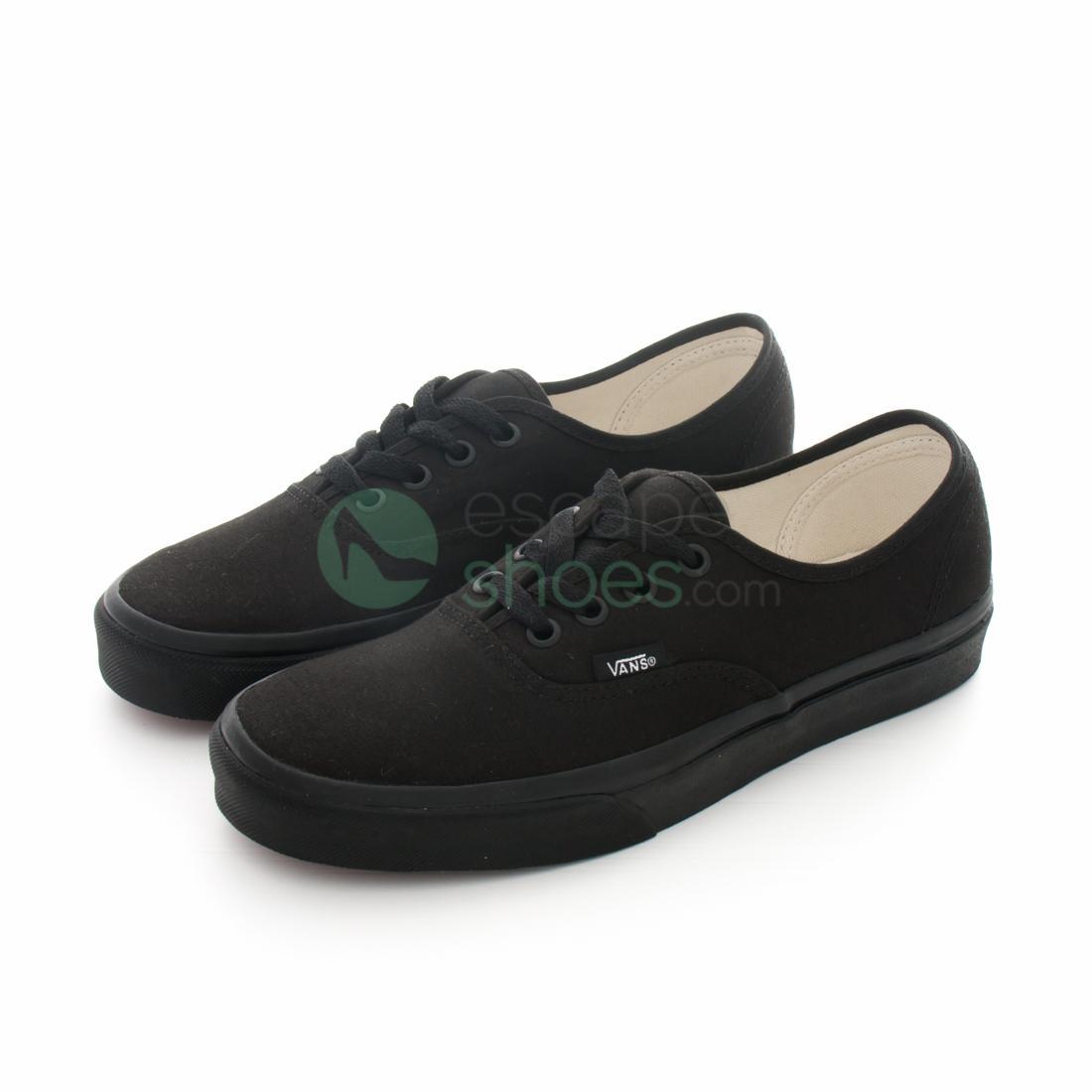 wiele stylów zawsze popularny informacje dla Sneakers VANS VEE3BKA Authentic Black on Black