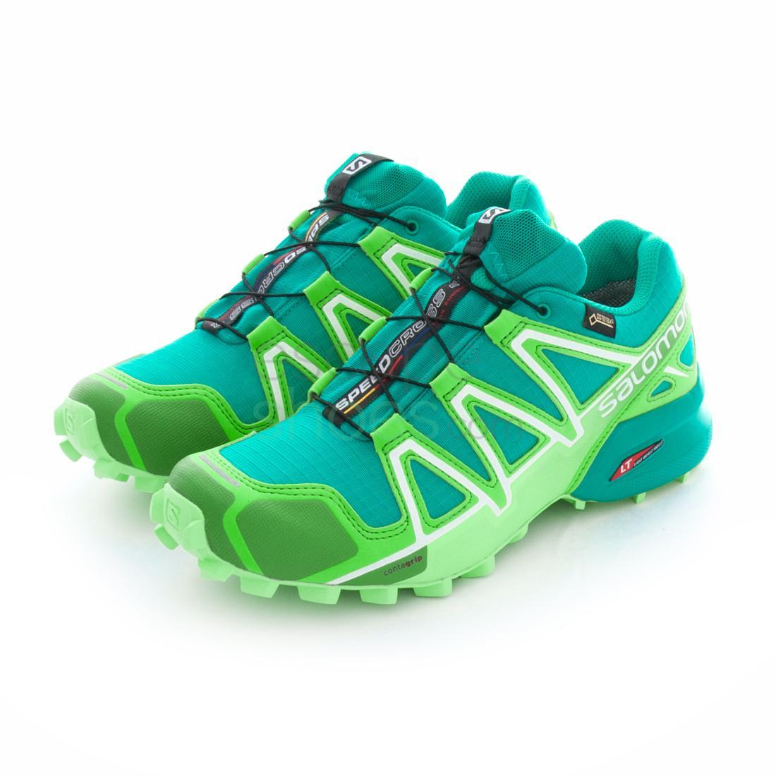 nouvelle arrivee 2a624 51d94 Sneakers SALOMON Speedcross 4 Gore-Tex Teal Blue Peppermint ...