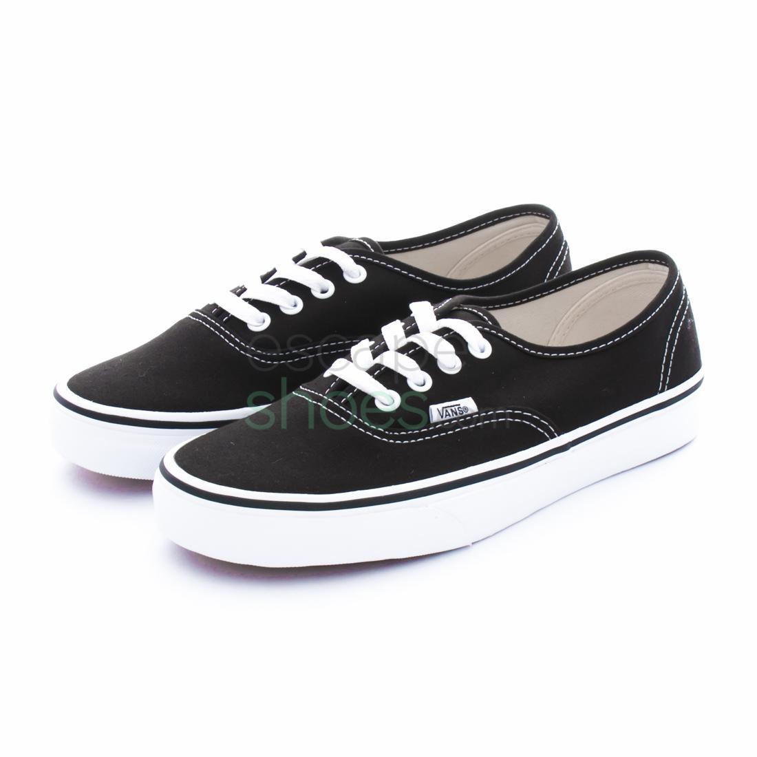 zapatillas vans negra