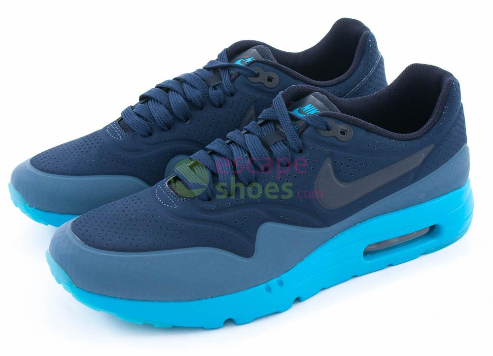 best website 54f19 7ebe6 Tenis NIKE Air Max 1 Ultra Moire Midnight Navy Obsidian 705297 400