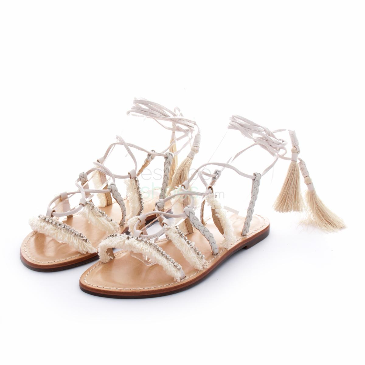 47098755f Buy your Sandals SCHUTZ Jolina Soft Nuance Braid Pearl S0-42370151 ...