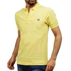 Polo FRED PERRY M6000 C18 Slim Amarelo