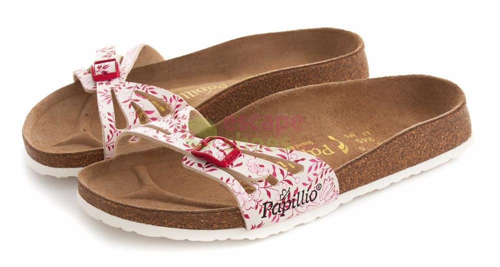 Sandals BIRKENSTOCK Papillio 598123 Java Carnation Red