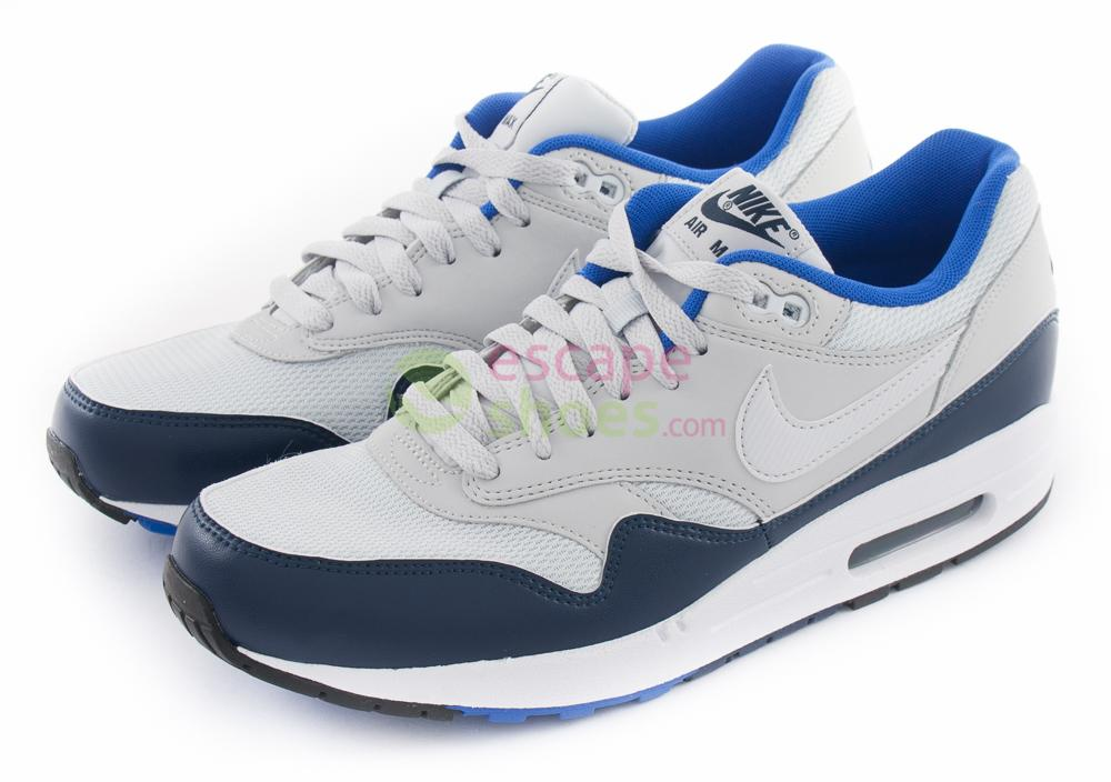 cb267780a7 Buy your Sneakers NIKE Air Max 1 Essential Pure Platinum Mid Navy ...