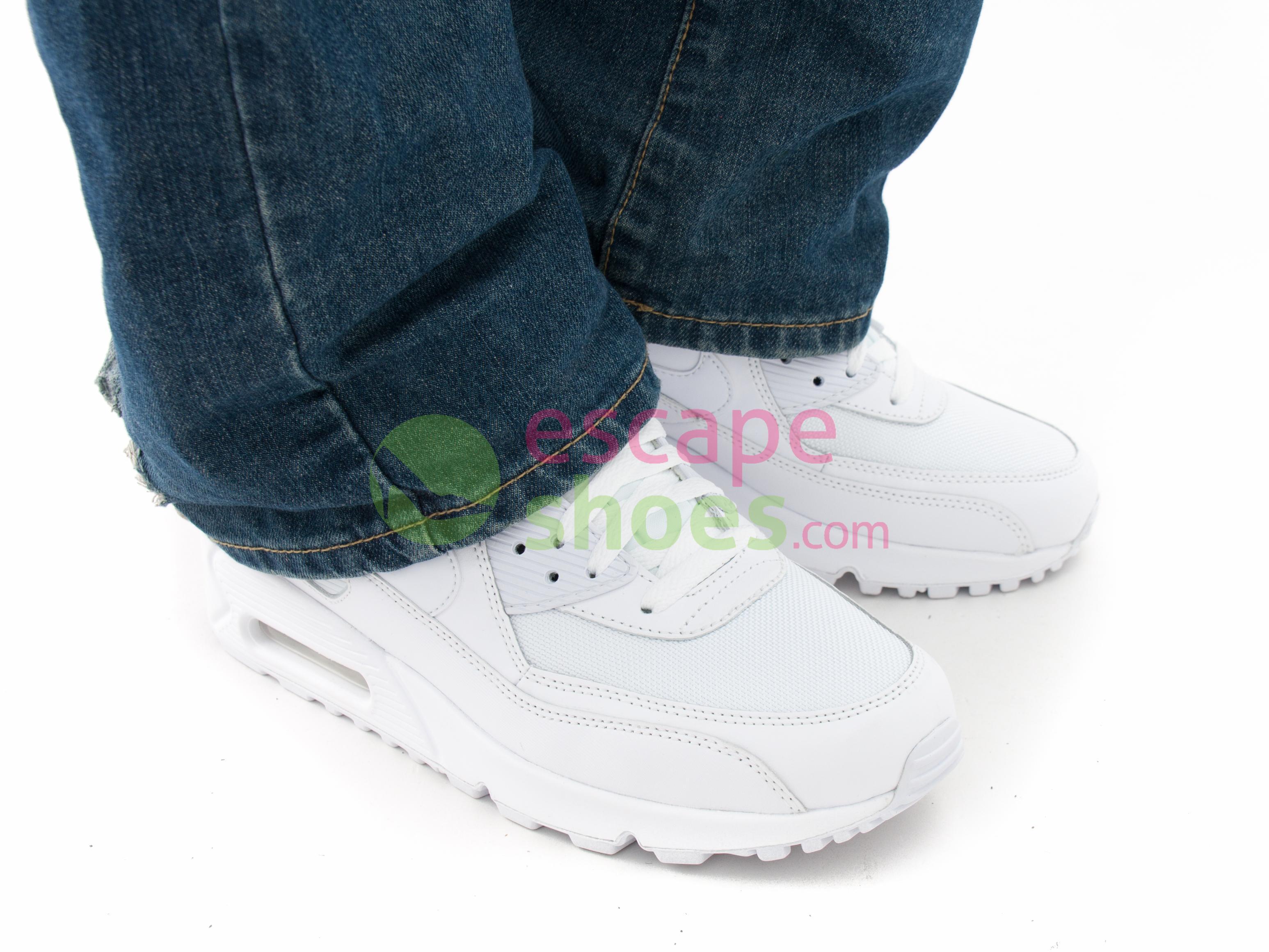 NIKE Air Max 90 Essential White 537384 111