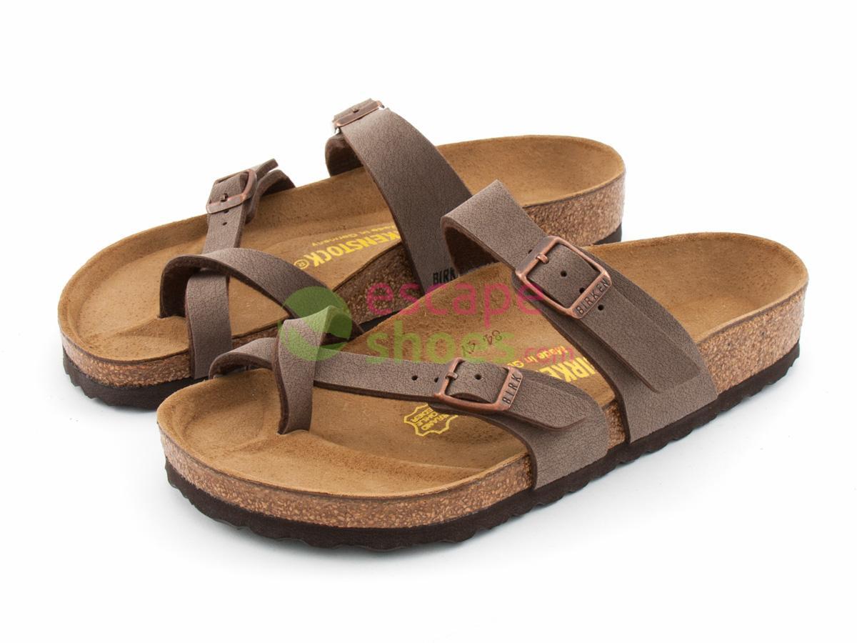 39105e7a720 Buy your Sandals BIRKENSTOCK 71061 Mayari Nubuck Mocca here