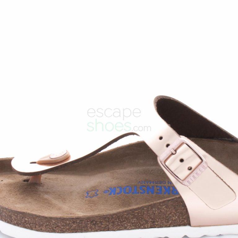 Sandalias BIRKENSTOCK Gizeh 1005048 Metallic Copper