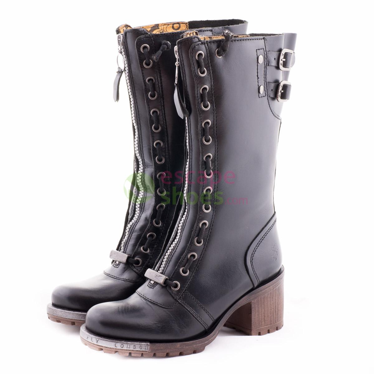 5d9d53d949 Buy your Boots FLY LONDON Logger Lada Black P143519000 here   Online ...