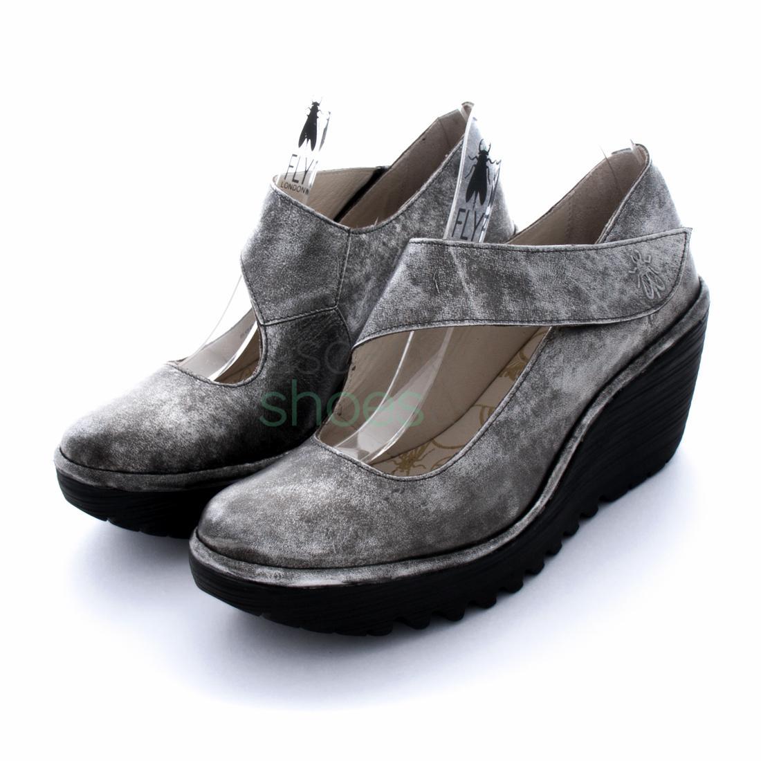 f1cde483be7 Compra aquí tus Zapatos FLY LONDON Yellow Yasi682 Silver P500682012 ...
