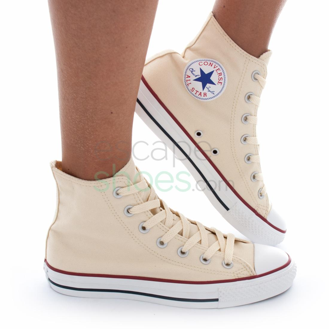 Sneakers CONVERSE Chuck Taylor All Star M9162C 100 Hi Natural White