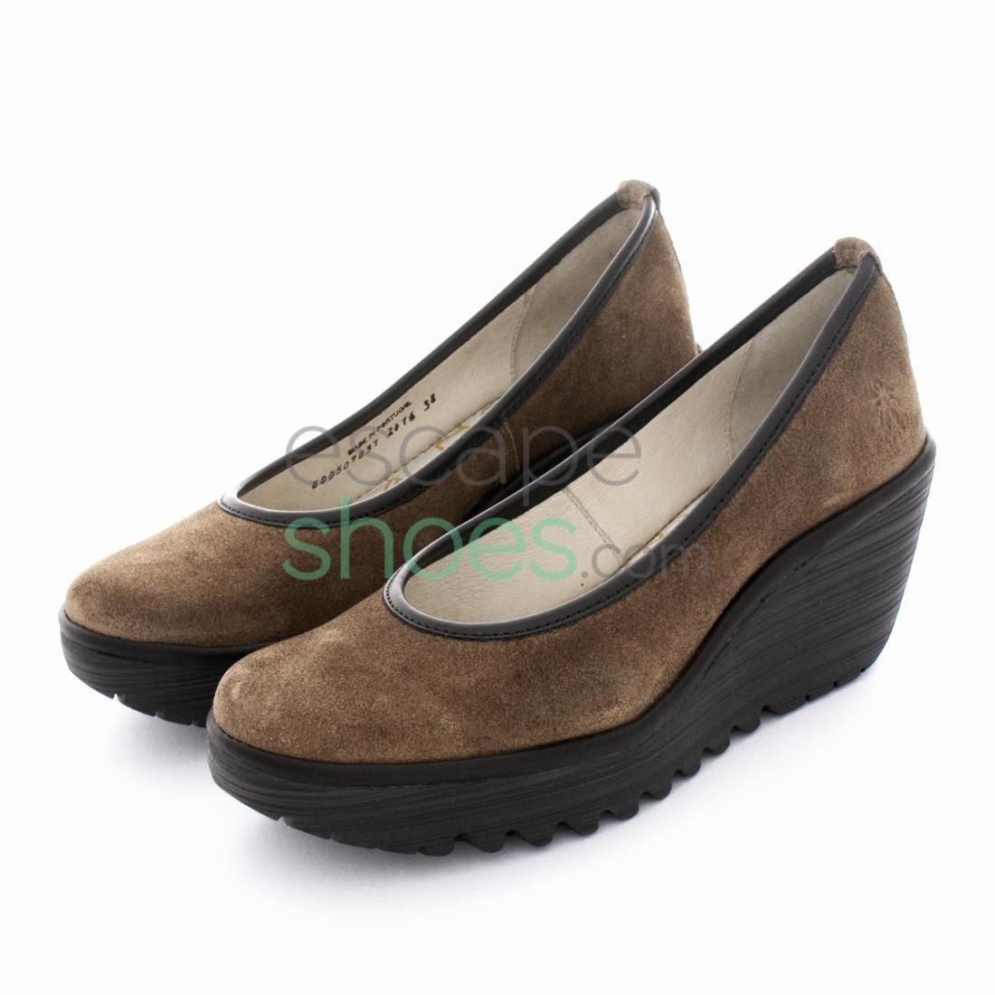 f585074dedb Zapatos FLY LONDON Yellow Yalu Camel P500509031 - EscapeShoes