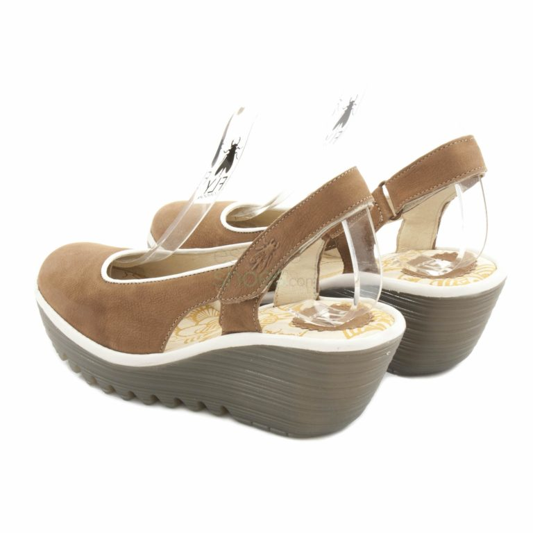 Sandalias FLY LONDON Yellow Yipi831 Sand P500831001