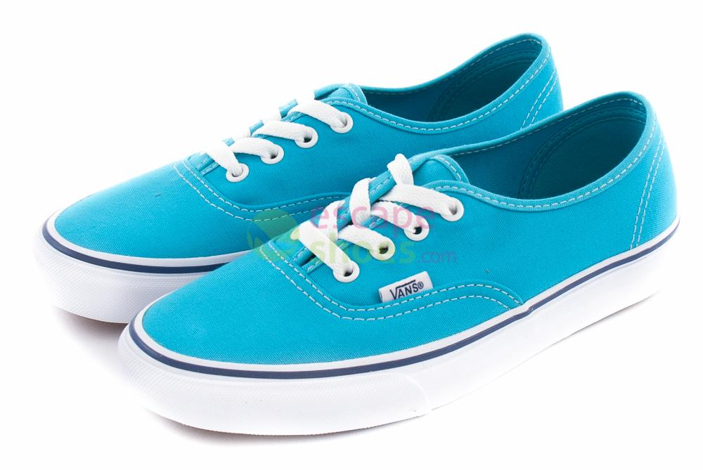 Buy your Sneakers VANS Authentic Cyan Blue True White VZUKFRY here ... 6c04aa93ffd
