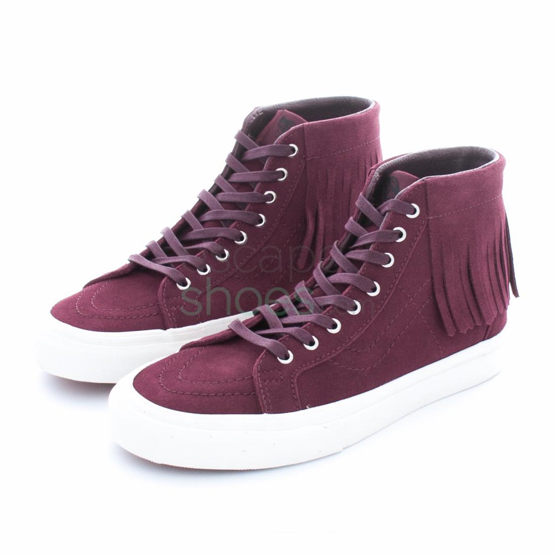 Buy your Sneakers VANS Sk8-Hi Moc Suede Port Royale Blanc V00315JU1 ... 5ee51bd56