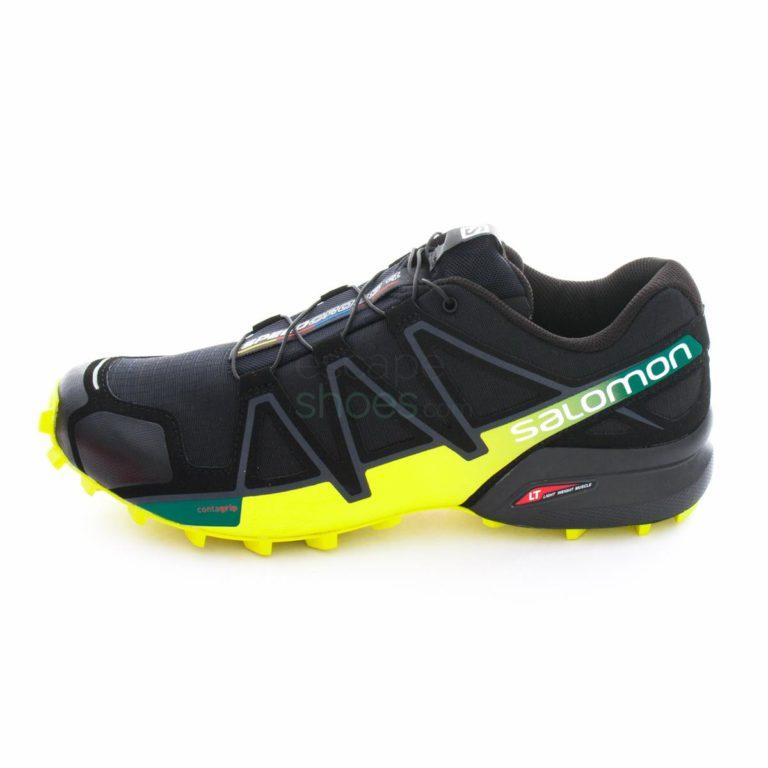 Tenis SALOMON Speedcross 4 Black Everglade Sulphur 392398