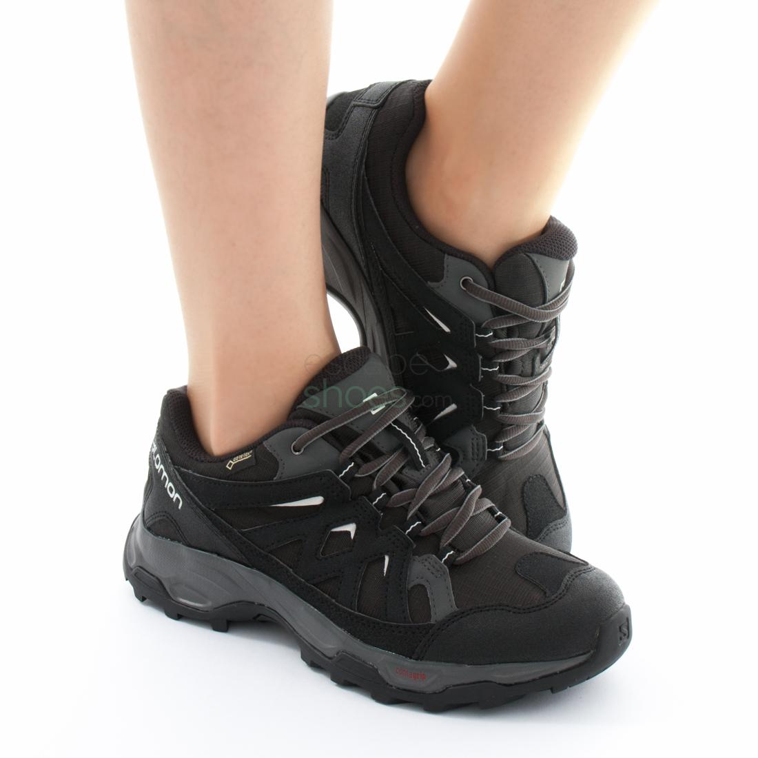 Zapatillas Salomon Effect GTX W Negro