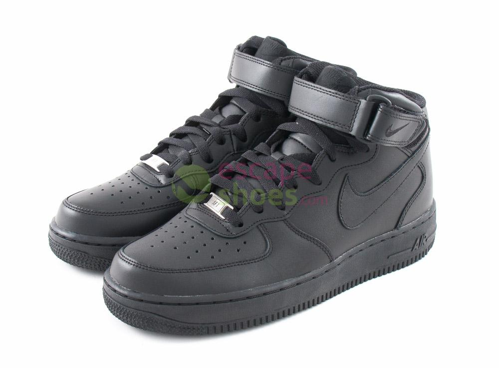 d92dc10f1aa Buy your Sneakers NIKE Air Force 1 Mid 07 Black 315123 001 here ...