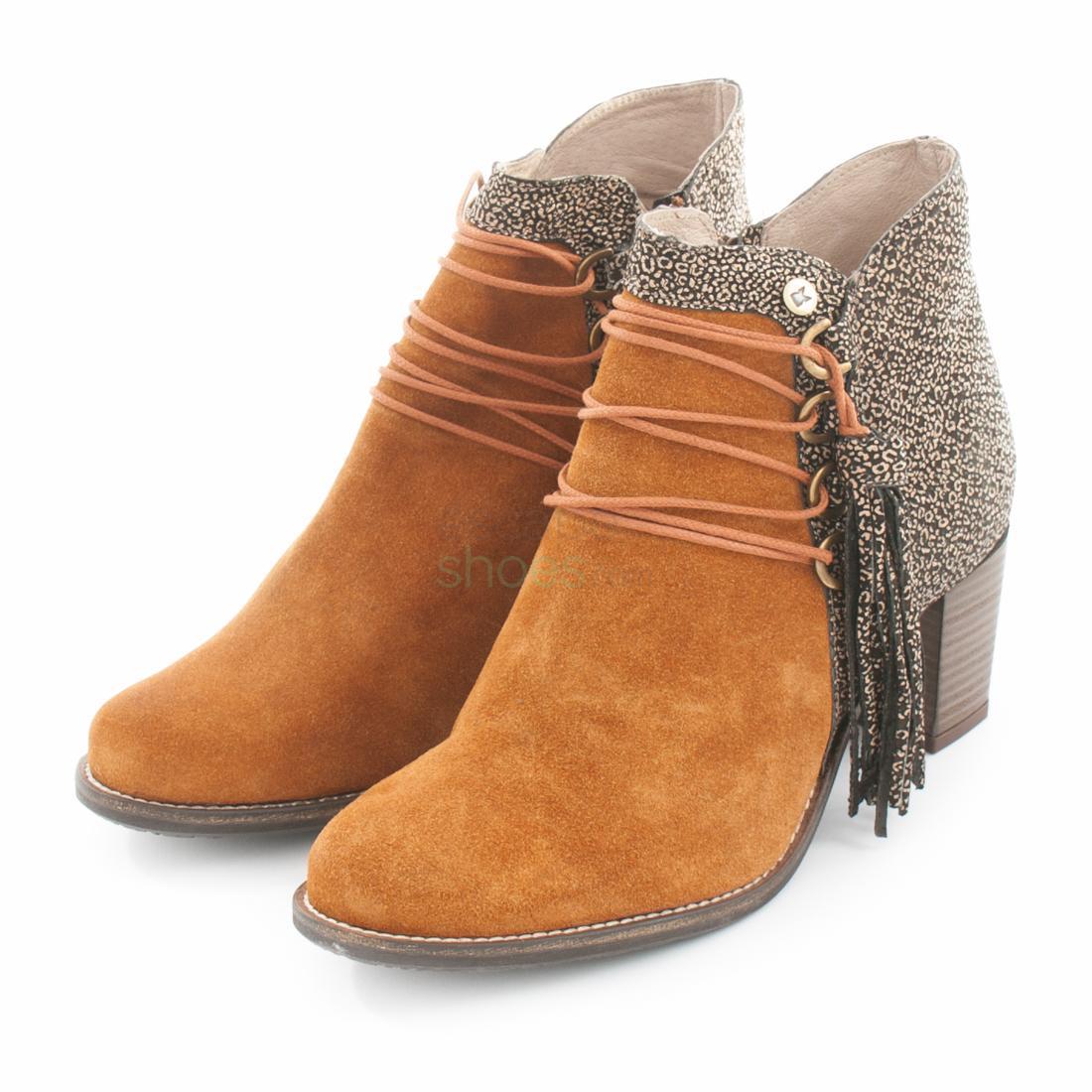 bcafa3be Footwear / Ankle Boots · Botins DKODE Clock Caprice Cognac FW1712876 033