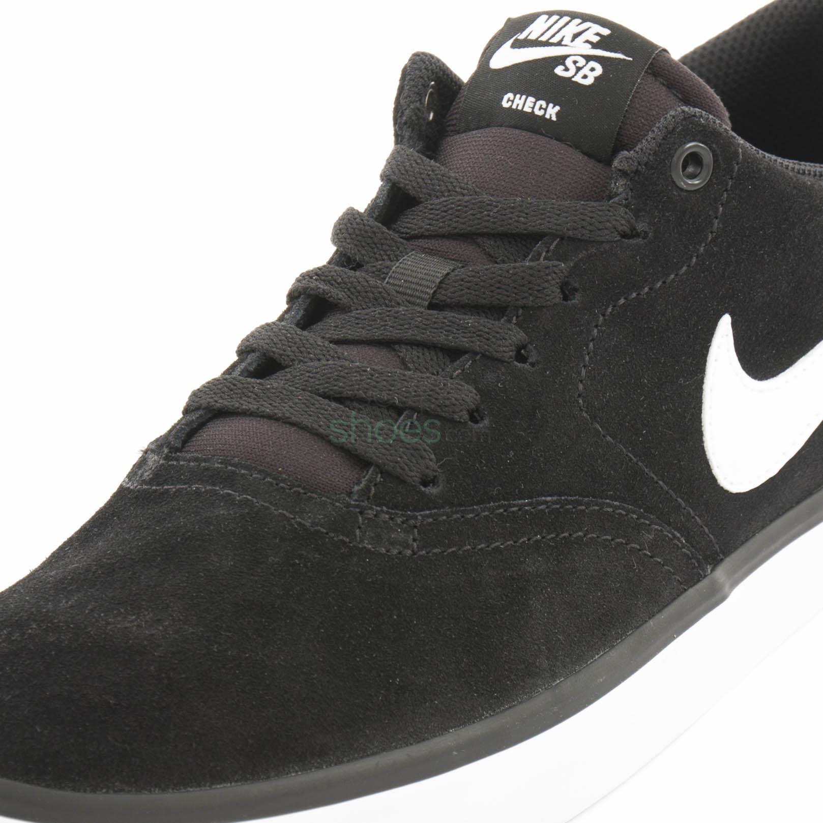 Químico Cerebro Gran cantidad de  Sneakers NIKE SB Check Solar Black White 843895 001