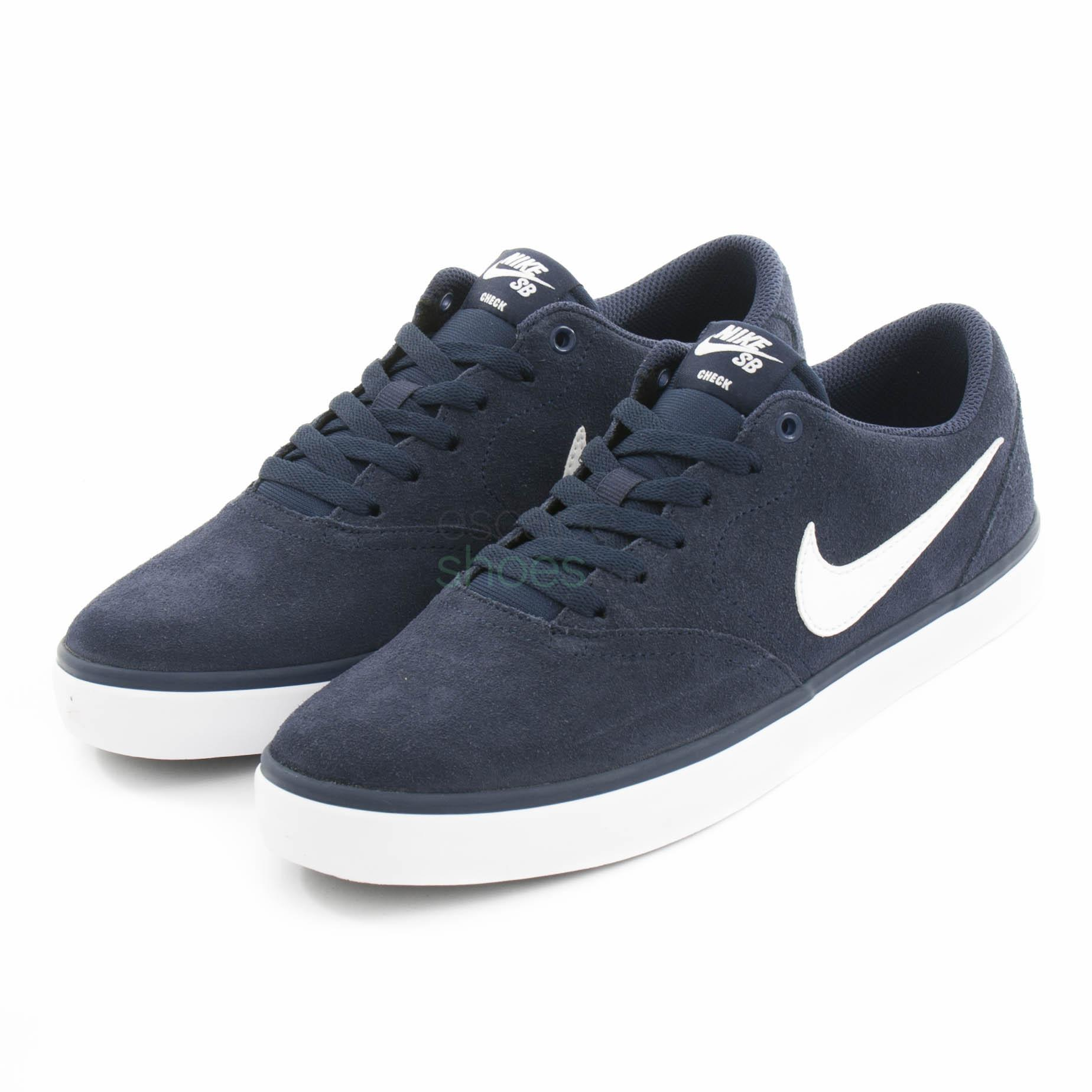 NIKE SB Check Solar Midnight Navy White 843895 400